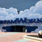 "Eingang der durchaus imposanten ""Dreamworks"" Halle im motiongate Dubai"
